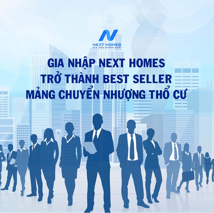 Next Homes tuyển dụng 05 TPKD và 100 CVKD