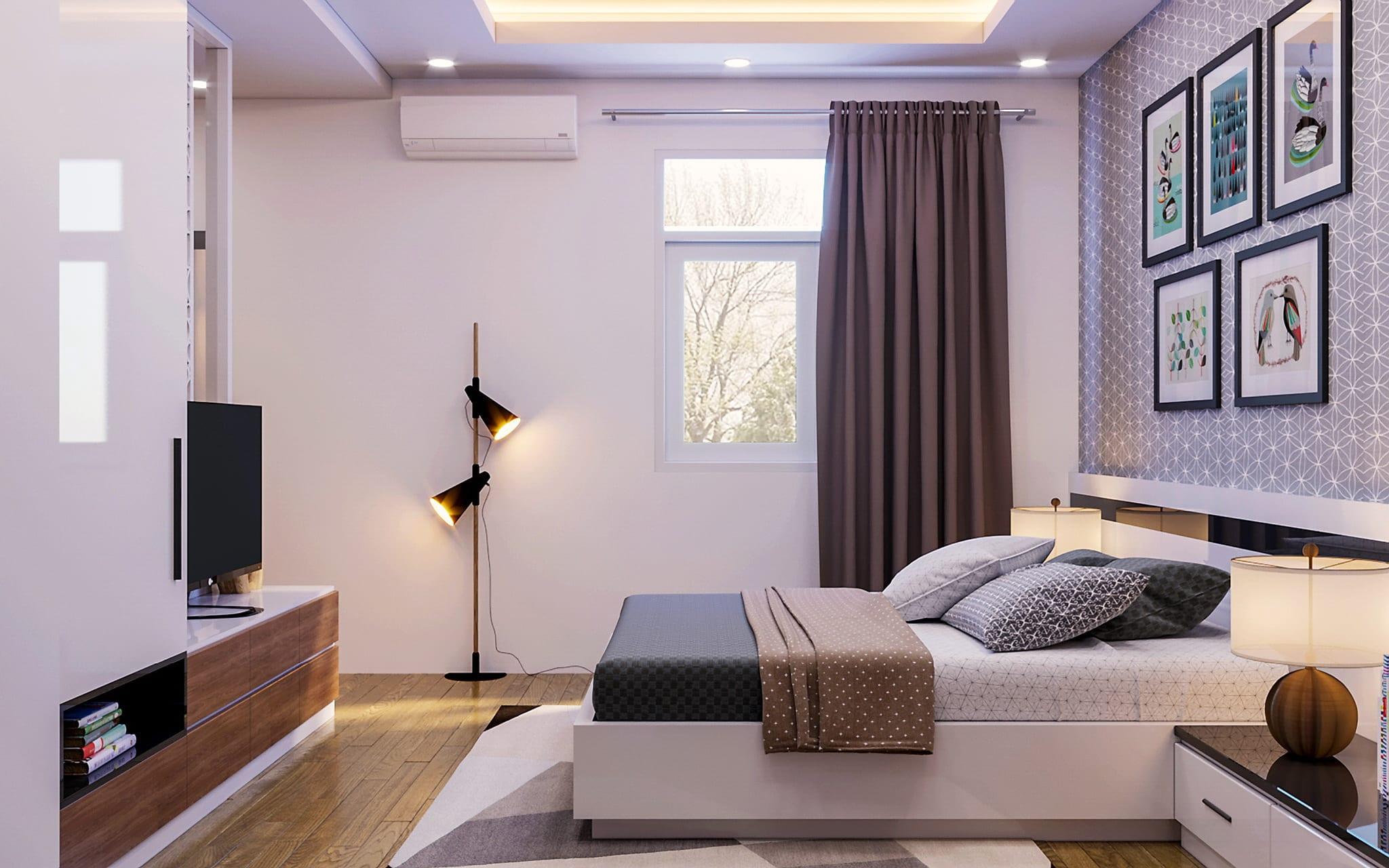 Cách đặt giường ngủ đúng cách cho giấc ngủ ngon, hợp phong thủy